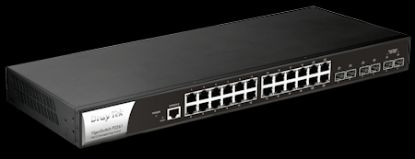Picture of DrayTek Vigor Switch P-2280 High-Power PoE Gigabit Switch
