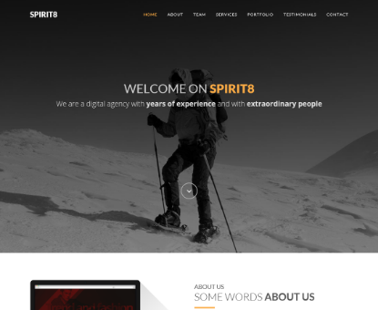 Spriti8 Bootstrap