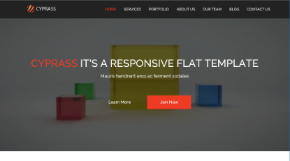 Cyprass Bootstrap Demo