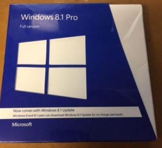 Windows 8.1 Pro Full Version Retail Boxed