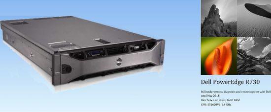 Dell PowerEdge R730 E52620V3 16 GB 2U Unused Server Unboxed