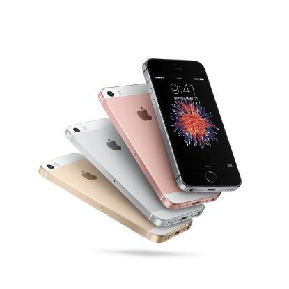 Apple iPhone 5 SE Silver and White Unlocked